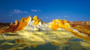 Вулкан Даллол — чудо природы / Эфиопия