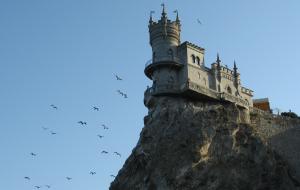 Ласточкине гнездо — это отдых в Крыму