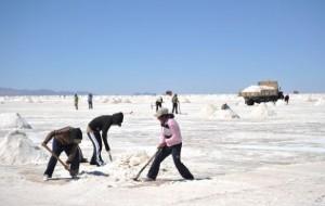 В Боливии построили отель из соли