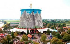 В Германии детский парк разместился в недостроенной АЭС