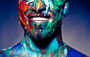 На фестивале в Финляндии гостей раскрасят разными красками