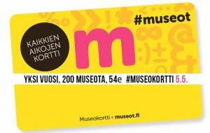 Финляндия: С 5 мая в Финляндии начинается продажа музейных карт