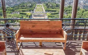 Франция: На Эйфелевой башне открылась летняя терраса