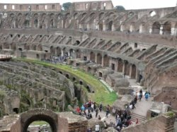 Колизей в Риме предстанет в непривычном качестве