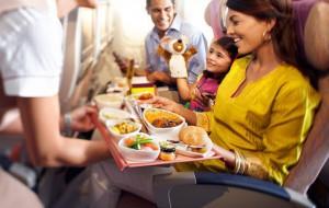 Авиаперевозчик с лучшей едой на борту