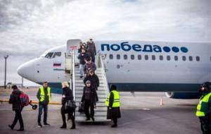Лоукостер «Победа» начнет выполнять международные перелеты через два месяца