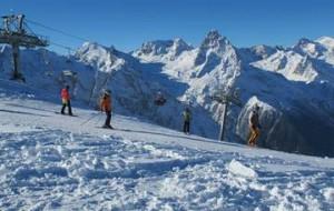 На Домбае к предстоящему сезону откроют новую горнолыжную трассу