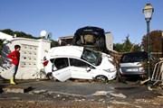 На юге Франции — разрушительное наводнение