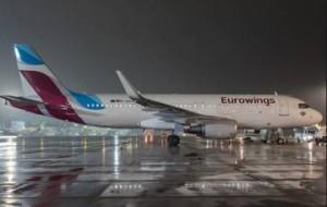 В Москву пришел немецкий лоукостер Eurowings