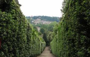 Италия: Парк Медичи можно исследовать наощупь