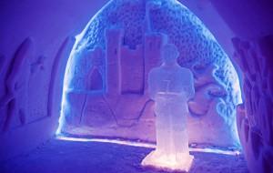 В Мурманской области туристы могут посетить «Снежную деревню»