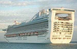 «Princess Cruises» представляет Европе новый круизный лайнер