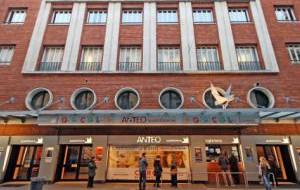Италия: В Милане открылся ресторан-кинотеатр