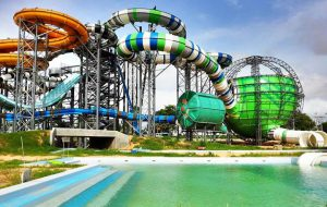 Крупнейший аквапарк Таиланда открылся в Паттайе