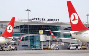 В аэропорту Стамбула возобновлена отправка рейсов