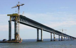 Крымский мост стал объектом показа