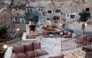 Лучшие отели в пещерах