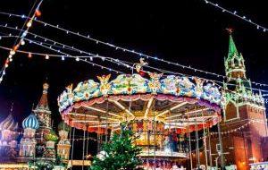 Россия: Рождество придёт в Москву в середине декабря