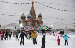 Сегодня на Красной площади открывается каток