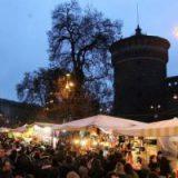 Италия: Рождественская ярмарка у замка Сфорца начала работу