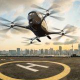Летом в Дубае появится летающее беспилотное такси