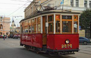 Туристические трамваи курсируют сквозь время
