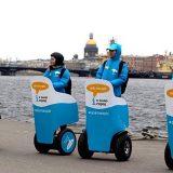 Помощники туристов на сегвеях появились в Санкт-Петербурге