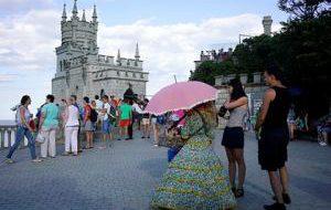 Россия В 2016 году Крым принял туристов из 64 стран
