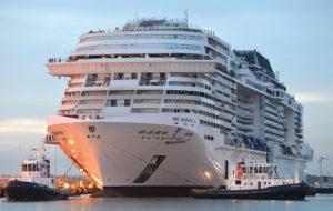 Новый лайнер MSC Cruises готов отправиться в первый средиземноморский круиз