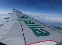 Alitalia сделала скидку на билеты в Рим
