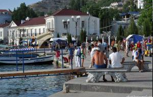 Проезд в Балаклаву закрыт до конца сезона