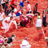 Помидорная битва Томатина пройдет в Испании 30 августа