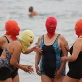 Фейскини — новый тренд на пляжах Китая