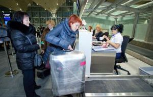 Авиапассажиры лишатся двух килограммов и бирок