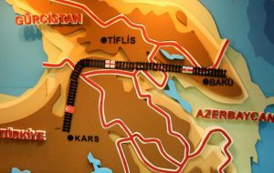 Открыта самая короткая ж/д линия, соединяющая Азию с Европой