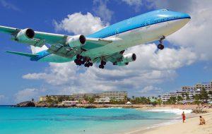 Аэропорт на острове Святого Мартина возобновил работу