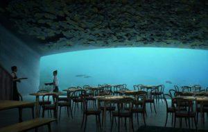 Самый большой подводный ресторан откроют в Норвегии