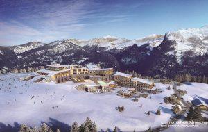 Новый курорт открывается в Альпах
