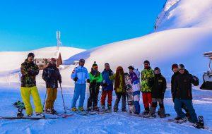 В горах Сочи начались тестовые катания