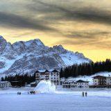 В Доломитовых Альпах начался горнолыжный сезон