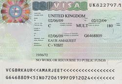 Россияне получают визы в Великобританию в штатном режиме