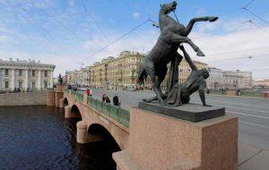 Санкт-Петербург. Интересные места на Невском проспекте