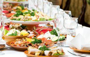 Как составить банкетное меню на свадьбу