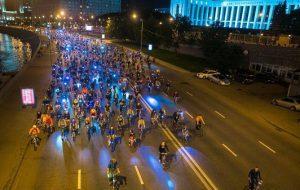 В Москве пройдет ночной велопарад