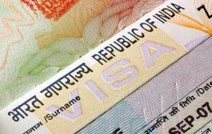 Изменилась цена электронных виз в Индию