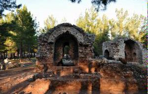 Древний город открыли для туристов рядом с Антальей