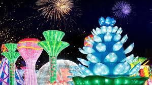 В Дубае открыл сезон «Сияющий сад»
