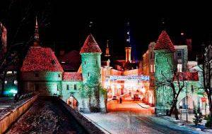 Чем порадует туристов новогодняя ночь в Таллине
