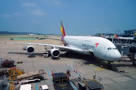 Asiana Airlines уходит из России