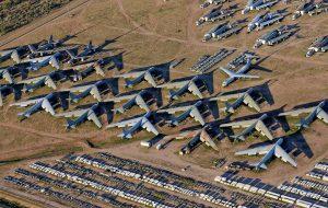 Новая проблема: Боингу на хватает места для хранения новых не востребованных самолетов